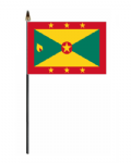 Grenada Country Hand Flag - Small.